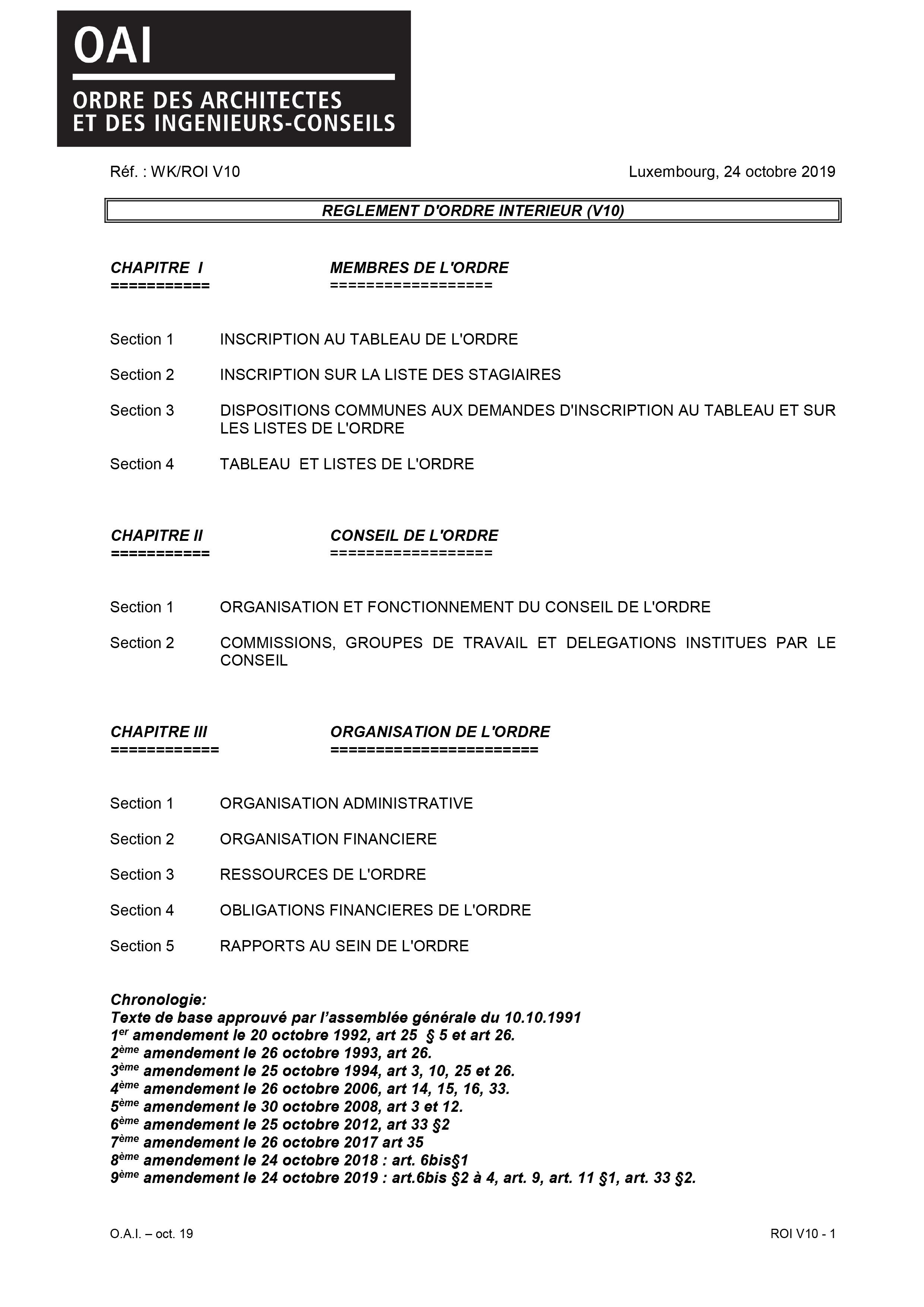Liste Ordre Des Architectes oai - ordre des architectes et des ingénieurs-conseils